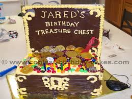Treasure Chest Decorations Coolest Kid Birthday Cake Decorating Ideas Cake