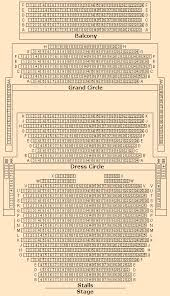Novello Theatre Seating Chart Novello Theatre Seating Plan