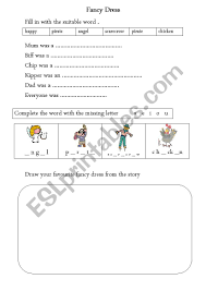 Richer reading phonics is only part of a child's reading journey. Oxford Reading Tree The Fancy Dress Esl Worksheet By Violetta82