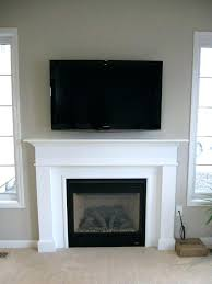 fireplace mantel height with tv above gas fireplace mantels with above resemblance of how to get fireplace mantel height with tv above