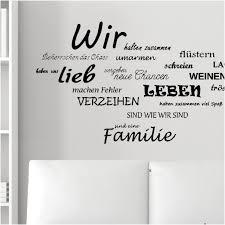 Wandtattoo Sprüche Familie Schön Phänomenale Inspiration Wandtattoo