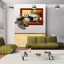 3D Kung Fu Panda Photo Wallpaper Funny Wall Mural Movie Poster Large Wallpaper  Bedroom Hallway Nursery Kids Rooms Home Decor