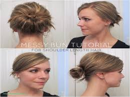 easy updo hairstyles for thin short hair inspirational diy messy
