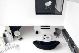 black n white furniture. The Place Is Sustained In Dynamic Combinations Between Black And White Furniture, Finishing, Details \u2013 That Although Designed With Close Attention N Furniture E
