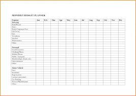 Operating Expense Template Operating Expenses Template It Spreadsheet Template Monthly Expenses