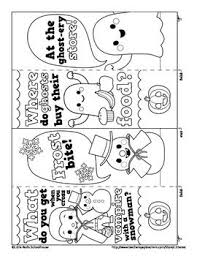 These cute free printable halloween bookmarks are fun to print for the kids during october. Happy Happy Halloween Color In Joke Bookmarks Halloween Coloring Coloring Bookmarks Bookmarks Kids