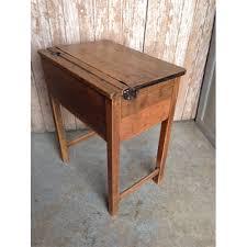 school desk. Oak School Desk