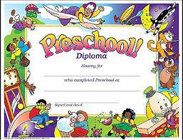11 Preschool Certificate Templates Pdf Free Premium Templates
