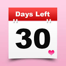 Calendar Countdown Days Event Countdown Days Left Counter Date Reminder Widget Counting