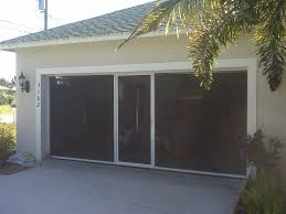 garage door screensBreezy Living Garage Door Screens Florida