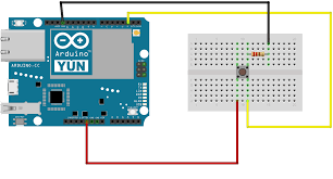 binarypower use arduino yun to send emails simple instructions power it up and wait for it to connect to wifi now you should be able to press the button and get an email