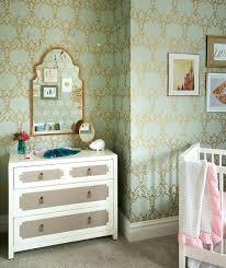 dresser with gold leaf mirror mint green nursery bedding antique