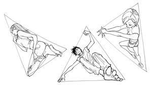 棒立ちポーズから脱却図形で発想する全身ポーズの練習法講座お絵かき