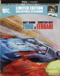 Ford V Ferrari 4k Blu Ray Release Date February 11 2020 Best Buy Exclusive Steelbook