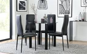 full size of black glass dining table argos round uk small and 4 chairs solar with