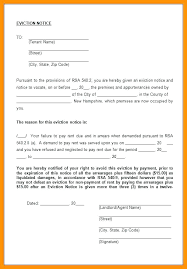 Free Eviction Notices Templates Free Eviction Notice Template Sample Letter Nz Templa Kennyyoung
