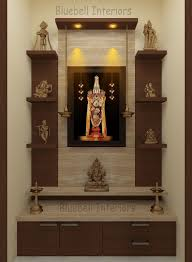 Pooja Room Steps Design Two Steps Pooja Unit With Side Shelves Italian Marble