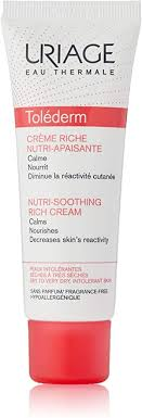 <b>Uriage Tolederm</b> Riche Nutri-Soothing Cream, 50 ml: Amazon.co.uk ...