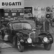 Heckansicht eines bugatti type 57 aérolith coupe. Bugatti Type 57 Sc Atlantic Der Teuerste Gebrauchtwagen Der Welt