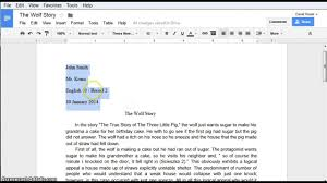 Apa Style Paper Template Google Docs How To Write A Paper In Mla