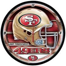 forty niners nfl round clocks san francisco forty