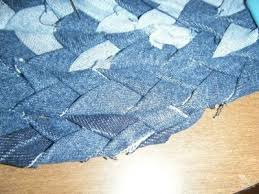 how to make a rag rug braided denim rag rug step 9