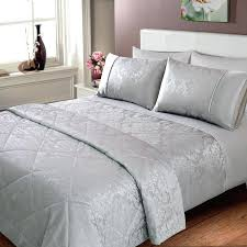 silver duvet cover king silver bedding jacquard damask bedspread silver bedding silver super king size duvet cover
