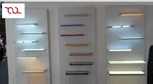 glass shelf lighting. LED Cabinet Tempered Glass Shelf Lights Lighting E