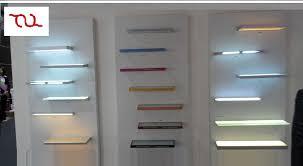 led cabinet tempered glass shelf lights