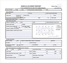 Accident Report Template Word Vehicle Accident Report Form Template beneficialholdings 19