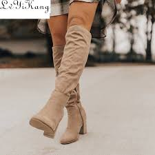 Best Offers fashion <b>winter autumn</b> knee boots ideas and get free ...
