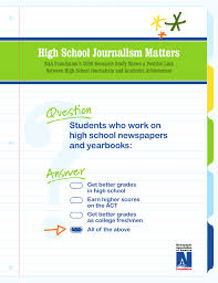 How To Get Better Grades In College High School Journalism Matters