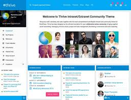 Free Bootstrap 4 Template 2018 Intranet Website Templates Download