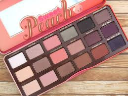 image result for sweet peach brand new too faced cosmetics