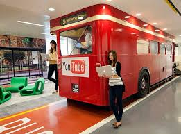 the google uk headquarters in victoria london feature a routemaster bus turned into the google office f81 the