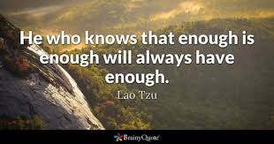 Enough Is Enough Quotes