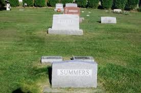 SUMMERS, GEORGE FRANKLIN FAMILY STONE - Winneshiek County, Iowa   GEORGE  FRANKLIN FAMILY STONE SUMMERS - Iowa Gravestone Photos