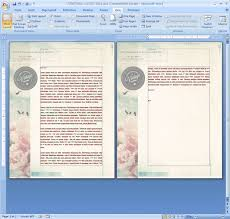 Ms Word Page Designs How To Repeat A Logo And Address On Each Page Of Your