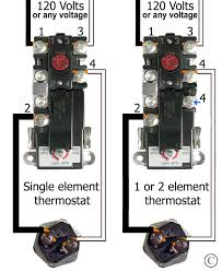 how to wire water heater thermostats therm-o-disc 59t 4200 see larger 240 volt single