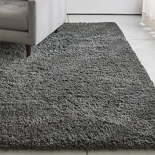 Shag rugs Memphisiisteelrug6x9shs18 Crate And Barrel Memphis Grey Shag Rug Crate And Barrel