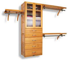 john louis home 16 deep closet organizer 5 drawer 2 door transitional closet organizers by john louis home