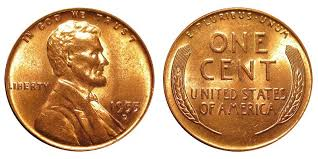 1955 D Lincoln Wheat Cent Small Cents Bronze Composite Penny