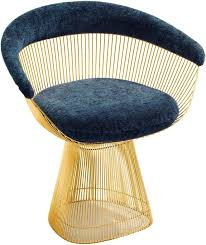 platner furniture. Platner Knoll Arm Chair In Gold Furniture