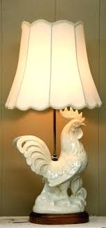 rooster lamp lamps lampshade chandelier shades