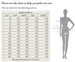 Studio 17 Size Chart Srd Looks