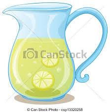 jug clipart. a pitcher of lemon juice jug clipart