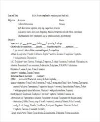 Soap Charting Format 6 Chart Note Example Nursing Soap Notes Examples Kays