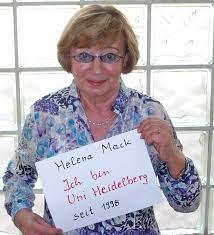 Gesichter der Ruperto Carola: Helena Mack - Universität Heidelberg