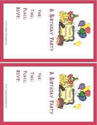 Online Printable Birthday Party Invitations Birthday Invitation Template Free Card Download Online