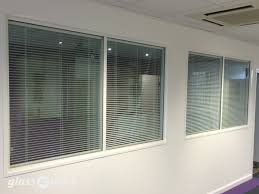 Glass Partitioning At Vish Construction Oxford Double Glazed